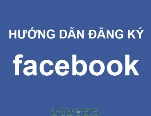 Hướng dẫn đăng ký facebook