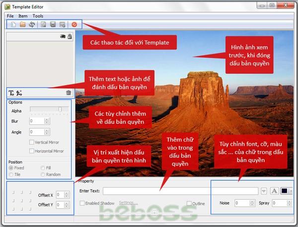 Hướng dẫn sử dụng Batch Watermark Creator 7 - Bước 3