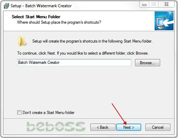 Hướng dẫn cài đặt Batch Watermark Creator 7 - Bước 4