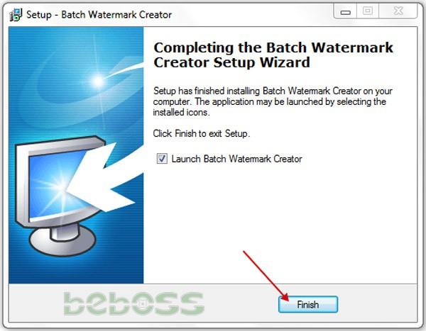 Hướng dẫn cài đặt Batch Watermark Creator 7 - Bước 7