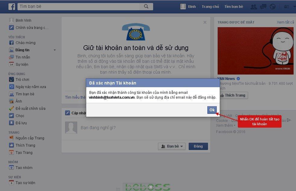 Hướng dẫn đăng ký facebook - Hình 8