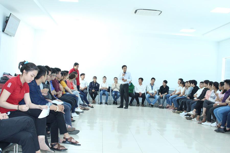 Khóa đào tạo được Báo Diễn đàn Doanh nghiệp kết hợp Hội Đồng TVHTKNPN tổ chức tại Đại học Lạc Hồng